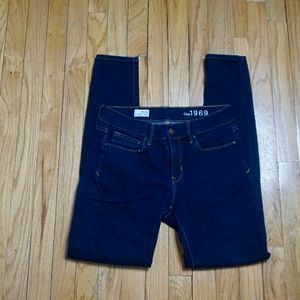 GAP 1969 Navy/Dark Blue Legging Jean (Size 28/6R)